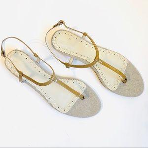 Brooks Brothers T-Strap Sandal